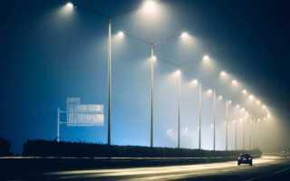 Светильники уличного освещения светодиодные