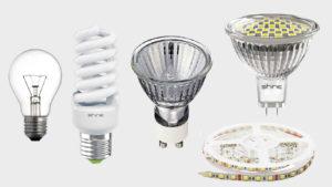 Лампы точечного и локального действия