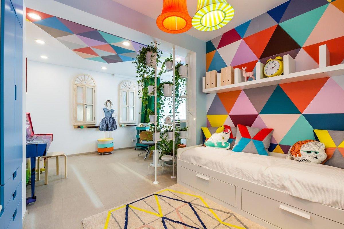 Разноцветный декор
